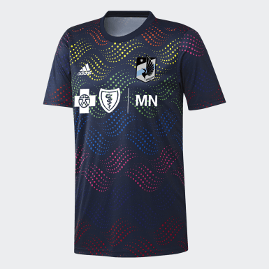 Minnesota United Pride Pre-Match Jersey