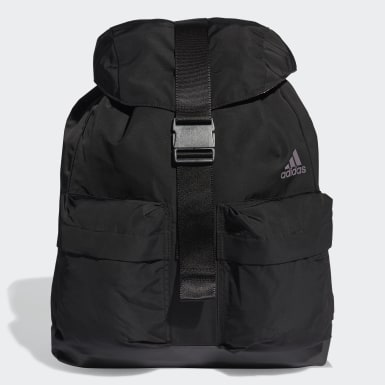 Women Yoga Black ID Backpack