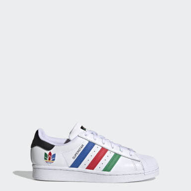 Tenis Superstar (UNISEX) Blanco Niño Originals