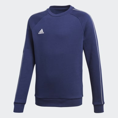 Sweat-shirt Core 18 Bleu Enfants Training