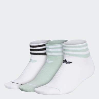 Women's Originals Green Low-Cut Socks 3 Pairs
