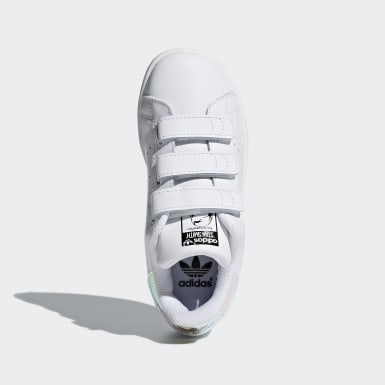 Children Originals Silver Stan Smith Shoes