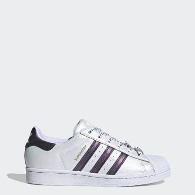 ผู้หญิง Originals สีขาว รองเท้า Superstar