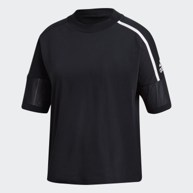 Women Athletics Black adidas Z.N.E. Tee