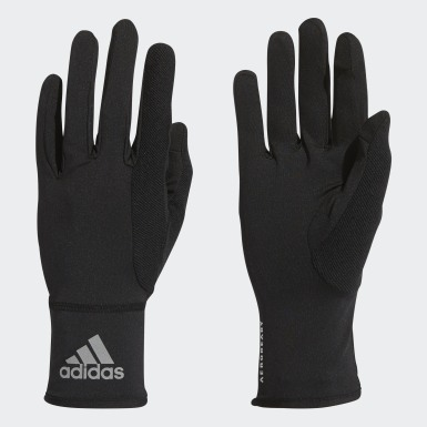 Running Black AEROREADY Gloves
