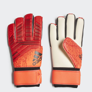 Soccer Red Predator Competition Gloves