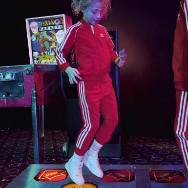 Spodnie dresowe SST Czerwony