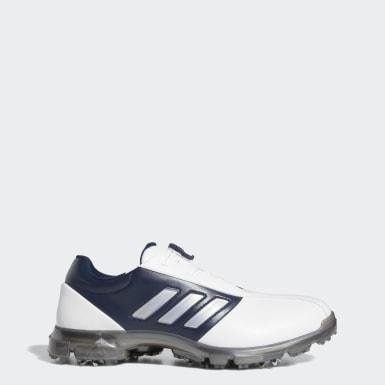 ผู้ชาย กอล์ฟ สีขาว รองเท้า Alphaflex Boa