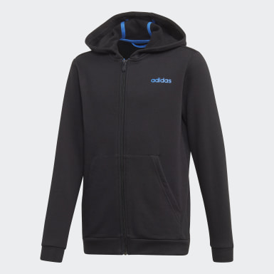 Boys Athletics Black Tasto Hoodie