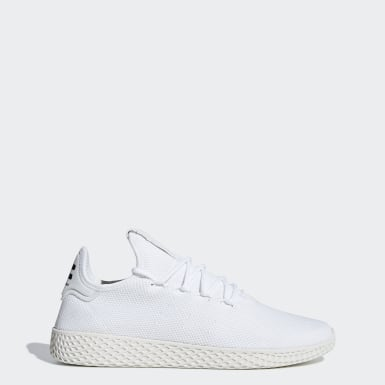 Dam Originals Vit Pharrell Williams Tennis Hu Shoes