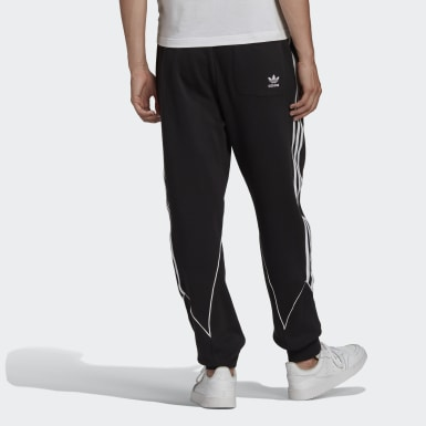 Männer Originals Big Trefoil Abstract Jogginghose Schwarz