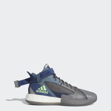Men Basketball Grey Posterize Shoes