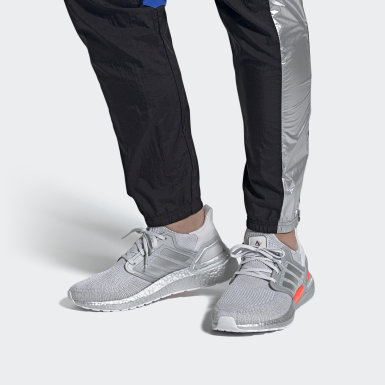 Men Running Grey Ultraboost 20 DNA Shoes