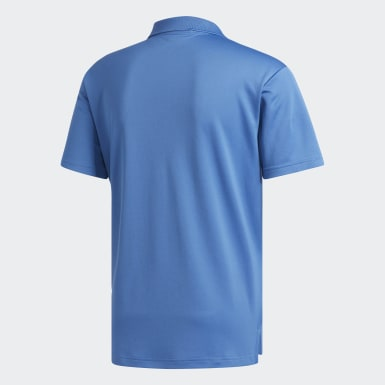 Playera Polo Performance Azul Hombre Golf