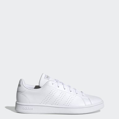 Women Sport Inspired White Advantage Base Shoes