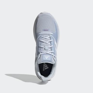 Tenis Run Falcon 2.0 Azul Mujer Running