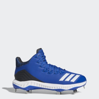 Men's Baseball Blue Icon Bounce Mid Cleats