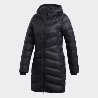 Women's Lifestyle Black NUVIC Down Jacket