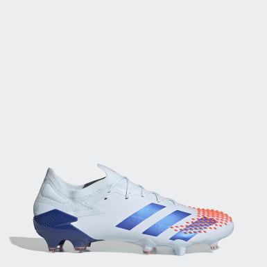 Football Blue Predator Mutator 20.1 Low Firm Ground Boots