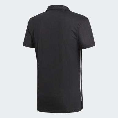 Camisa Polo Core 18 Climalite Preto Homem Futebol