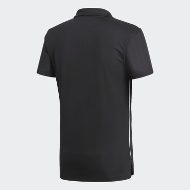 Men Football Black Core 18 Climalite Polo Shirt