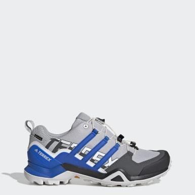 Men TERREX Grey Terrex Swift R2 GORE-TEX Hiking Shoes