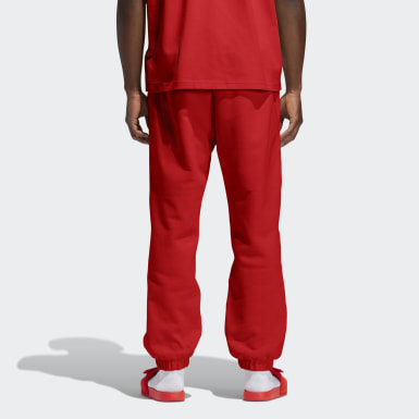 Originals Red Pharrell Williams Basics Sweat Pants (Gender Neutral)