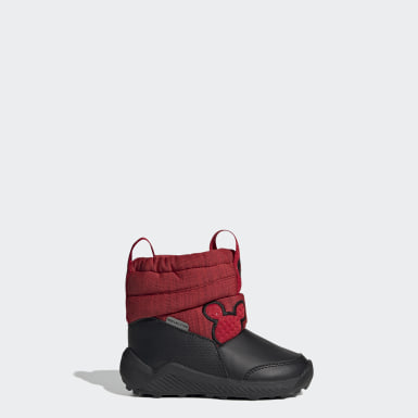 Bota RapidaSnow Mickey Mouse Burgundy Niño Training