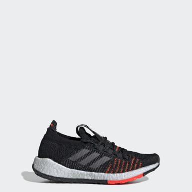 Youth Running Black Pulseboost HD Shoes