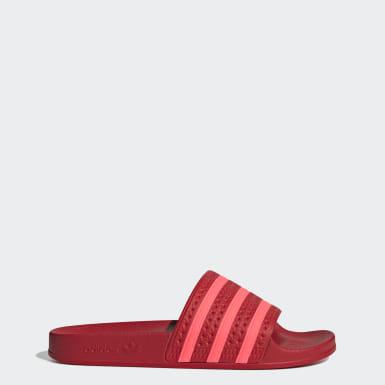 Chanclas Rojo Mujer | adidas España