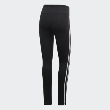 Ženy Fitko černá Legíny Design 2 Move 3-Stripes High-Rise Long