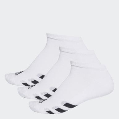 Männer Golf No-Show Socken, 3 Paar Weiß
