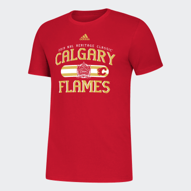 Men Hockey Multicolor FLAMES HERITAGE CLASSIC TEE