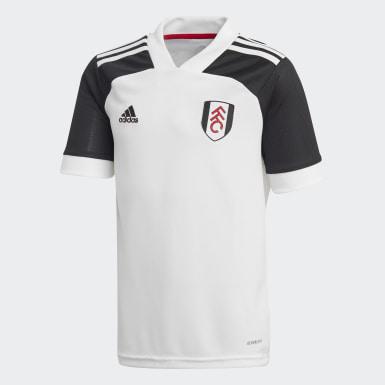 Børn Fodbold Hvid Fulham FC 20/21 hjemmebanetrøje