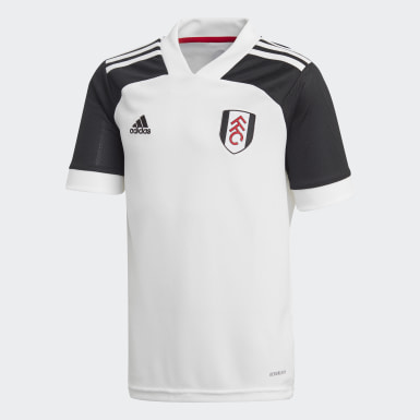 Kinderen Voetbal Wit Fulham FC 20/21 Thuisshirt