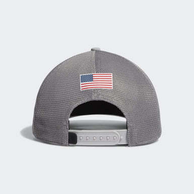 Men's Golf Grey USA TRUCKER