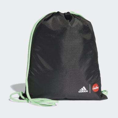Børn Løb Sort Cleofus Print gymnastikpose