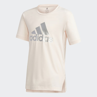 Girls Træning Pink Glam On AEROREADY T-shirt