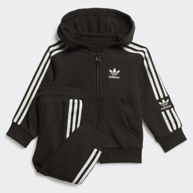Kids Originals Black Hoodie Set