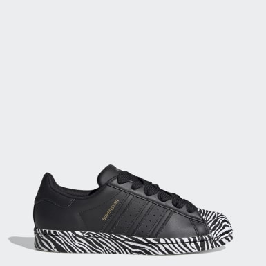 Women's Originals Black Superstar Shoes