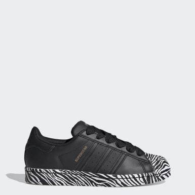Kvinder Originals Sort Superstar sko