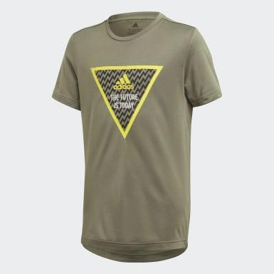 Kluci Joga zelená Tričko XFG