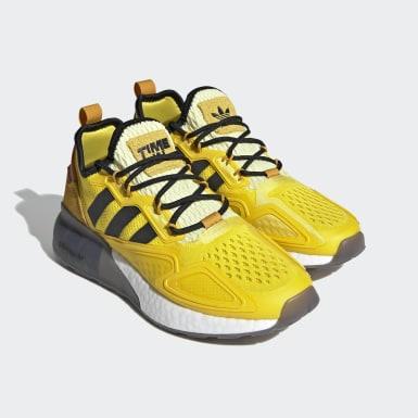 Youth Originals Yellow Ninja ZX 2K Boost Shoes