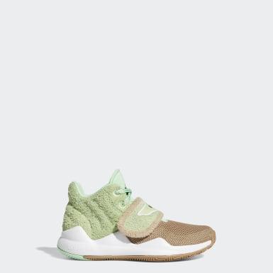 Kids Basketball Green Deep Threat Star Wars The Child Shoes