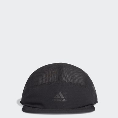 Tennis Black AEROREADY Five-Panel Reflective Running Cap