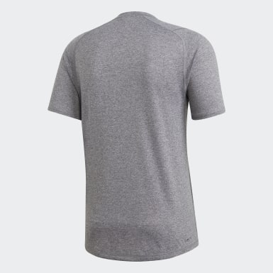 Männer Studio FreeLift Sport Ultimate Heather T-Shirt Grau