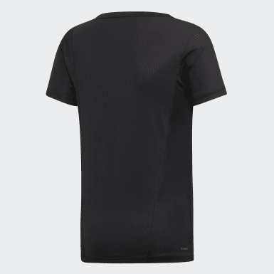 Genç Training Siyah FARM Rio Cardio Tişört