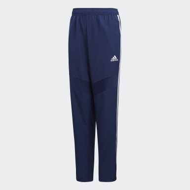 Youth 8-16 Years Training Blue Tiro 19 Woven Tracksuit Bottoms