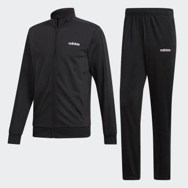 Conjunto de Chaqueta y Pantalón Basics Negro Hombre Training