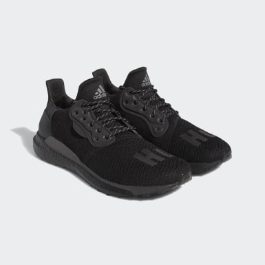 Tenis Pharrell Williams Solar HU Negro Running